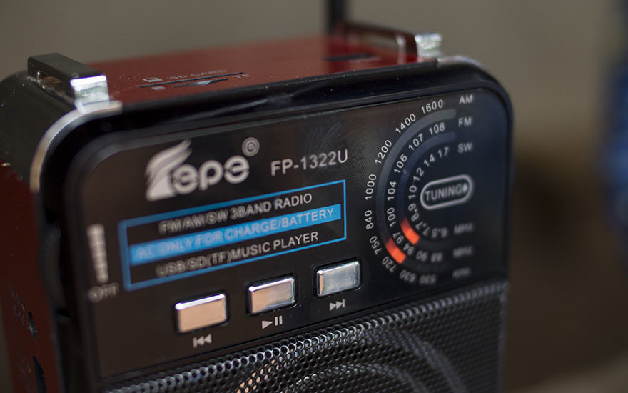 Education by radio during Ebola outbreak