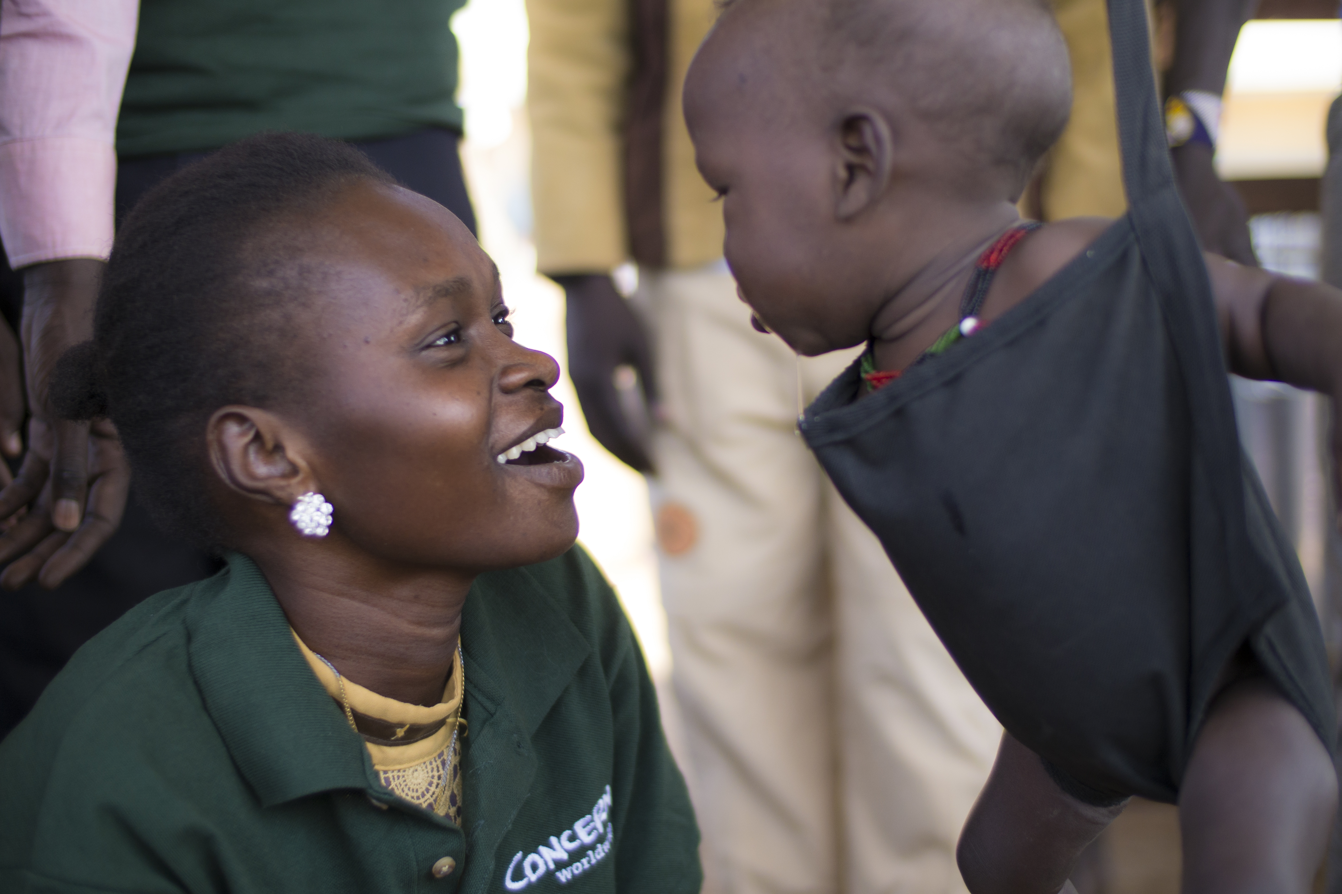 A Concern mobile nutrition clinic in South Sudan