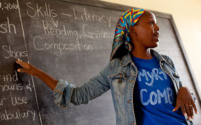 Improving access to education in Liberia