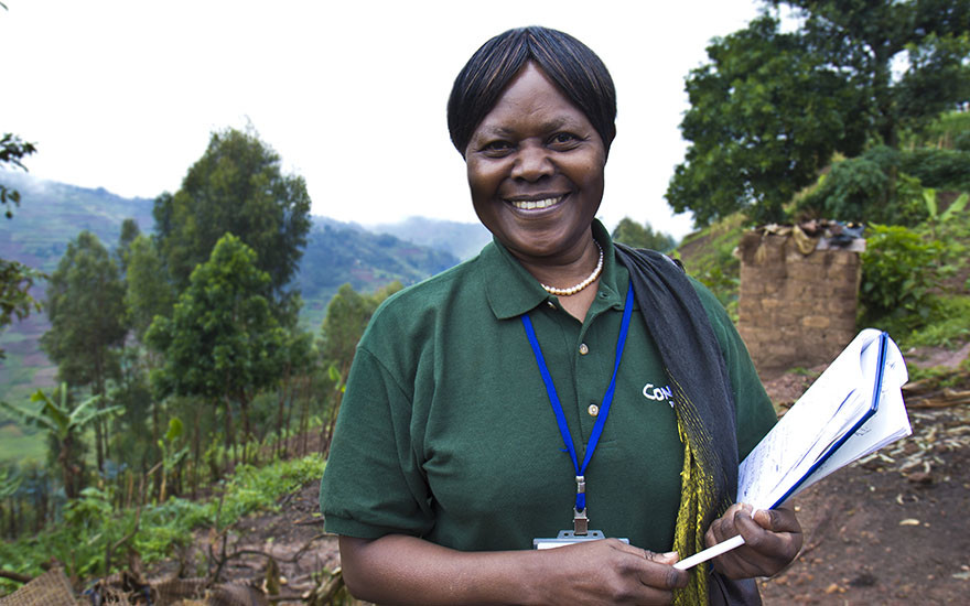 Julienne Mukarusanga has worked for Concern in Rwanda since 1994