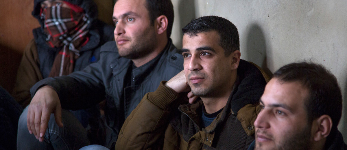 Syrian men refugees confront feelings of powerlessness in ...