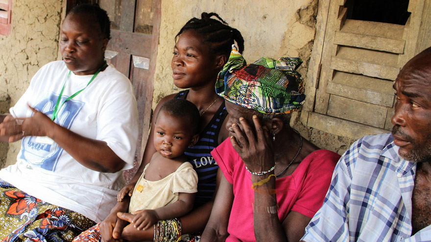 Home visit by community health worker
