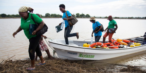 Emergency flood response in Mozambique