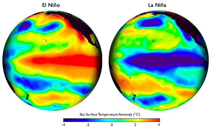 el nino and its influence on the ocean life El nino and la nina el niño and la niña are parts of an oscillation in the ocean-atmosphere system (called the el niño southern oscillation, or enso cycle) that can impact weather and.