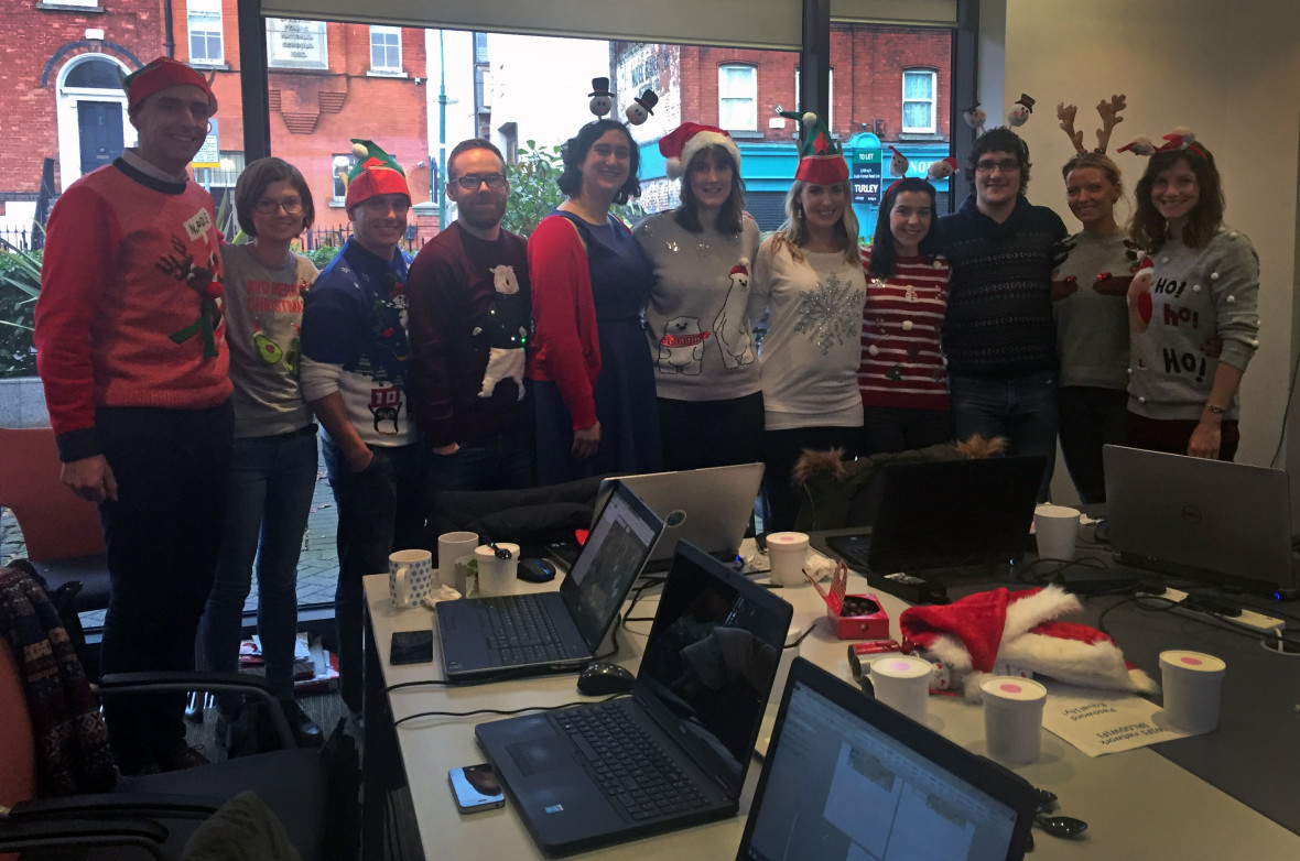 Missing maps event at Concern's headquarters in Dublin