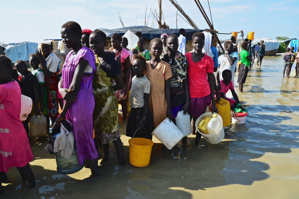 PoC camps for Nuer