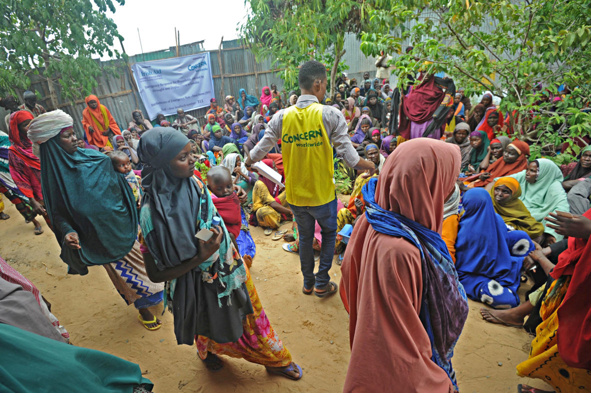NFI kit distribution in Somalia