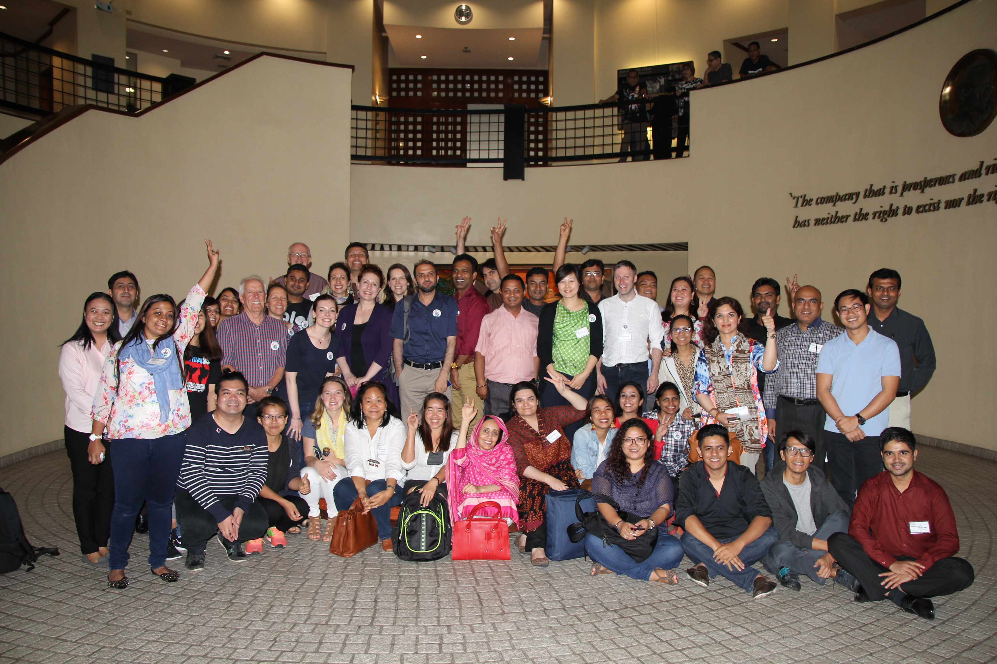 Participants in the 2018 NNPHL workshop in Manila.