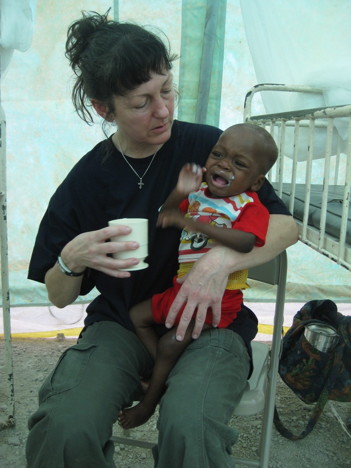 Haiti earthquake relief and child nutrition, 2010