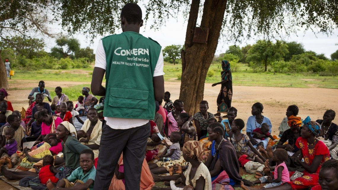 South Sudanese nutrition education session