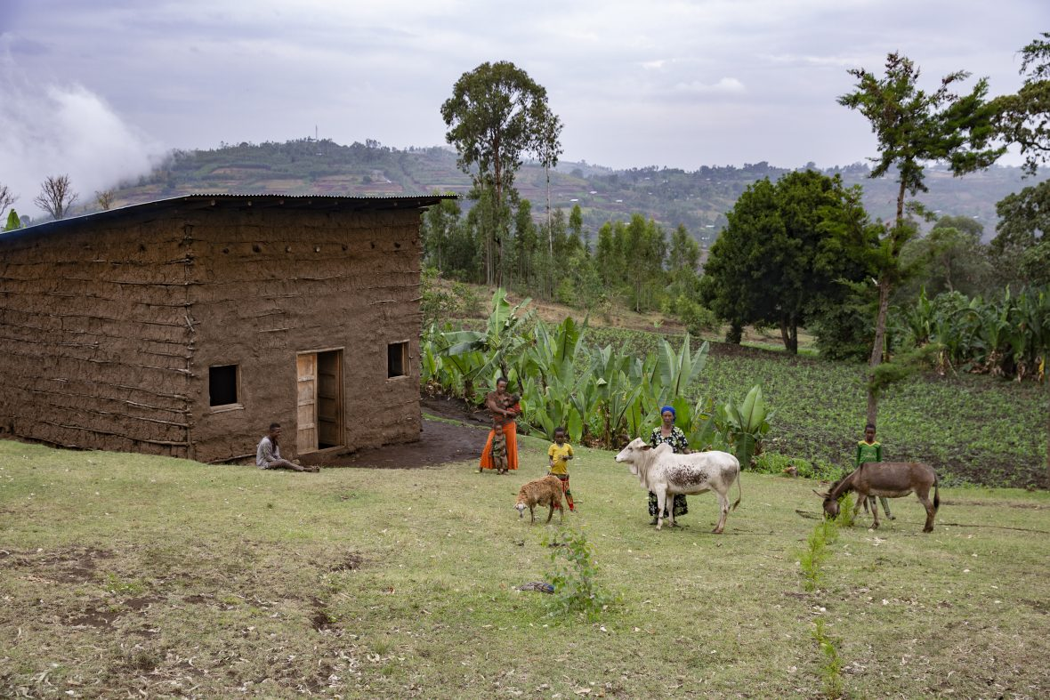 A rural home in southern Ethiopa