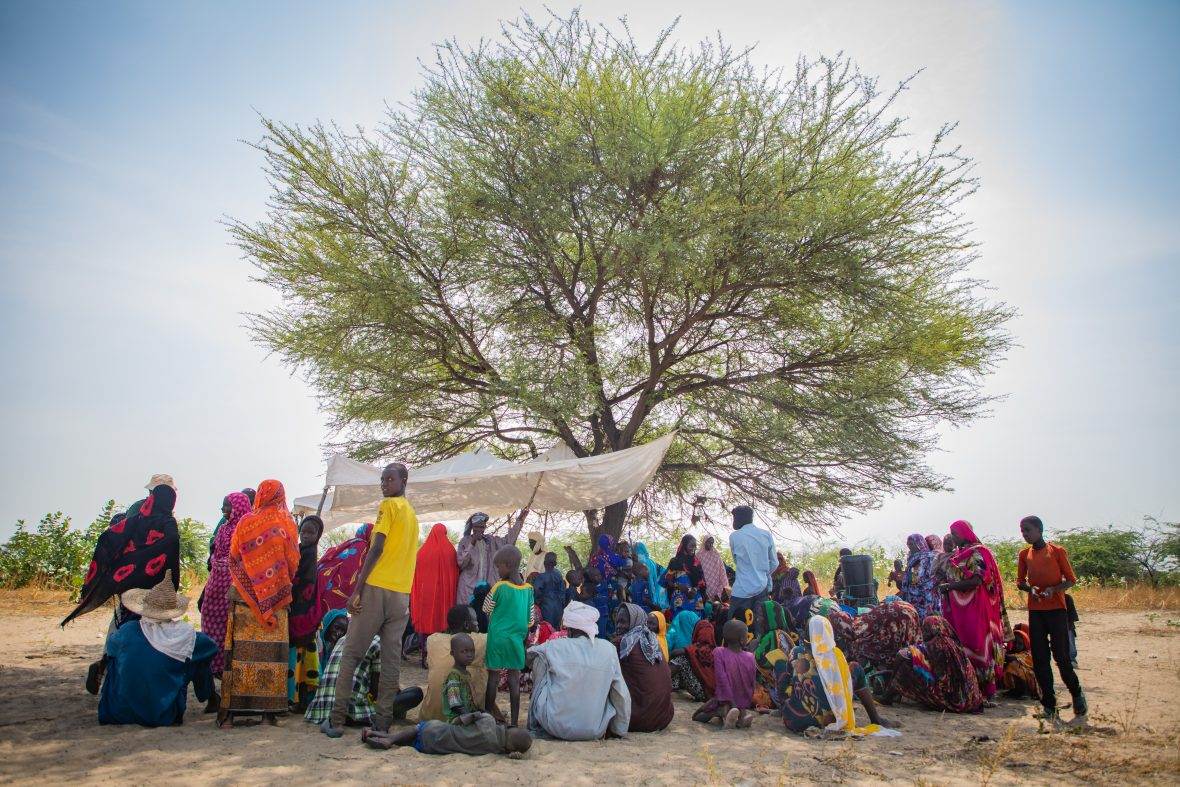 A mobile health clinic in Chad
