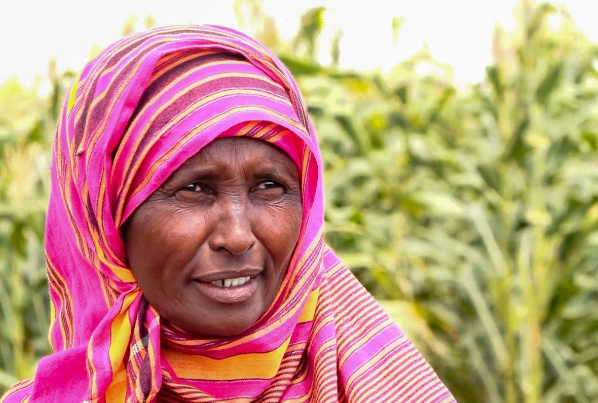 Kenyan female farmer